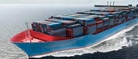 Container cargo shipping